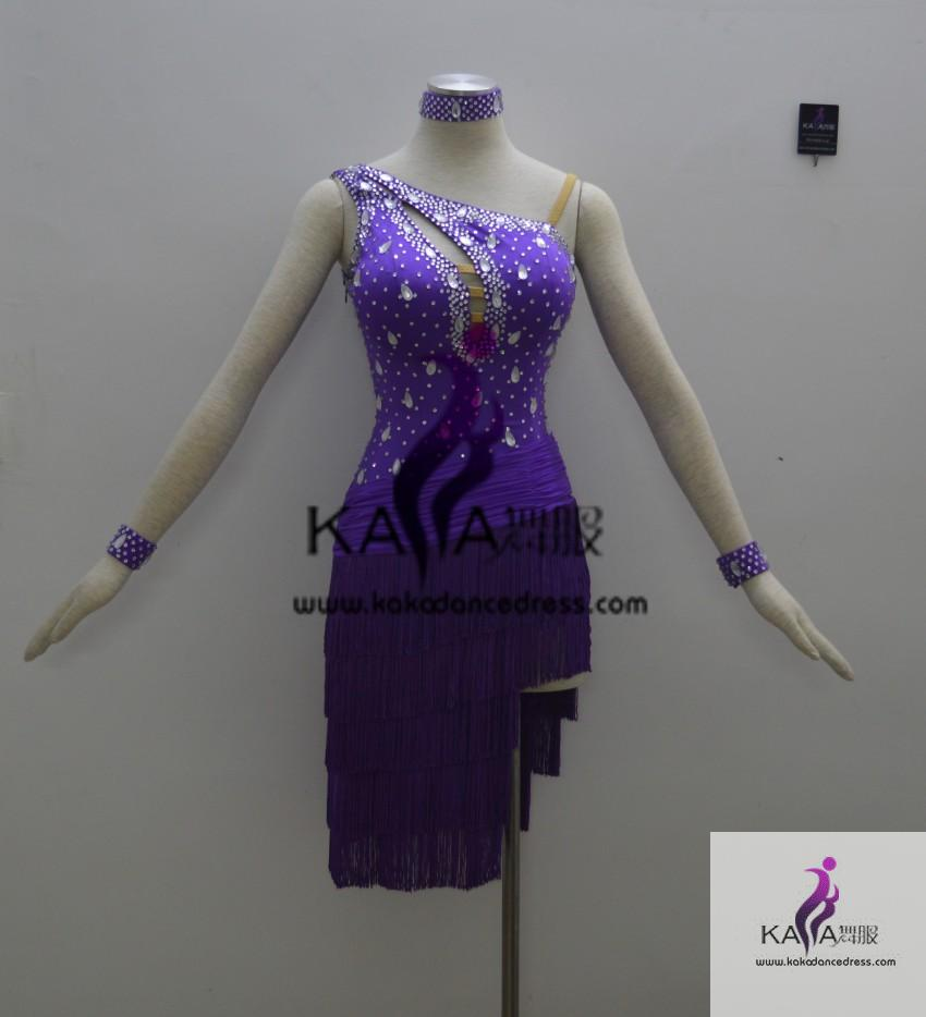 1c93ef37d1bf4 KAKAL1341,Women Latin Dance Wear,Girls Salsa Practice Dance Dress Tango Samba  Rumba Chacha Dance Dress,Latin Dance Dress