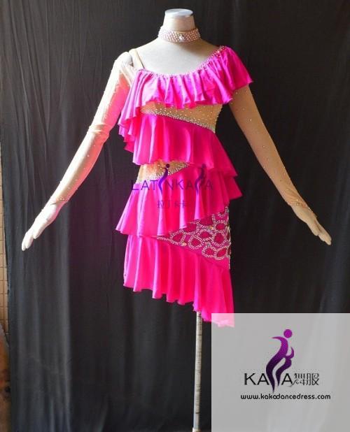 KAKAL1527,Women Latin Dance Wear,Girls Salsa Practice Dance Dress ...